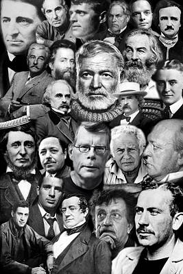 American Writers Poster