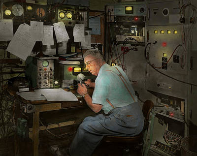 Americana - Radio - The Conspiracy Expert - 1948 Poster