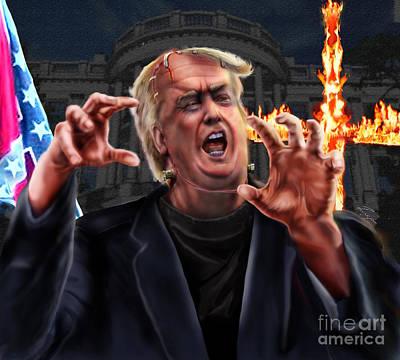 Amerikkkenstein Poster by Reggie Duffie