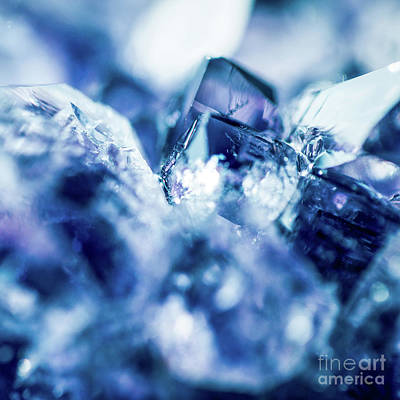 Poster featuring the photograph Amethyst Blue by Sharon Mau