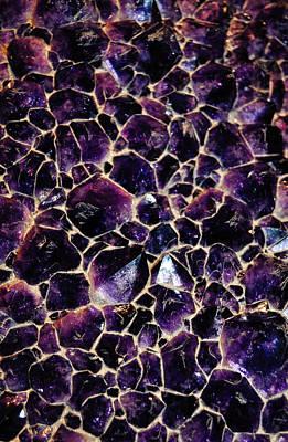 Amethyst Quartz Crystal Smithsonian Poster