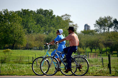 Amish Bike Ride Poster