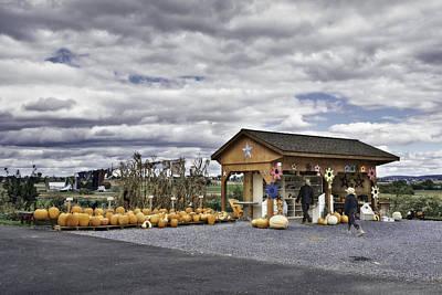 Amish Farm Poster by Eduard Moldoveanu