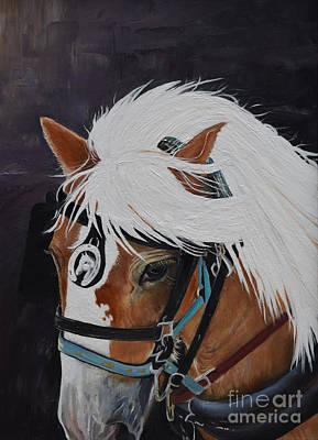 Amos - Haflinger - Horse Poster