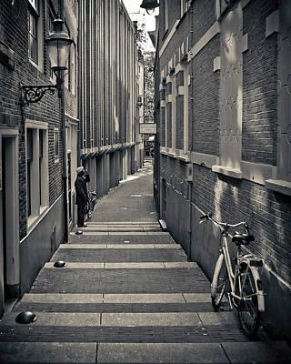 Amsterdam Poster by Adam Romanowicz