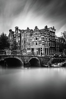 Amsterdam, Brouwersgracht Poster by Ivo Kerssemakers