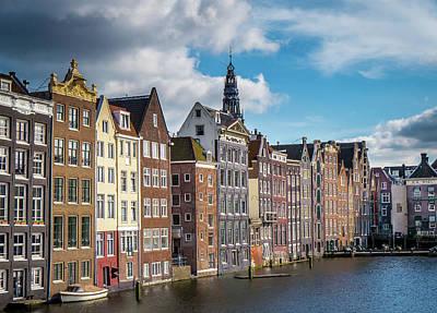 Amsterdam Buildings Poster
