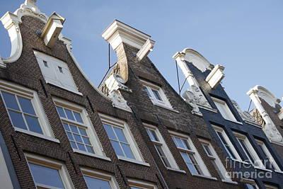 Poster featuring the photograph Amsterdam by Wilko Van de Kamp