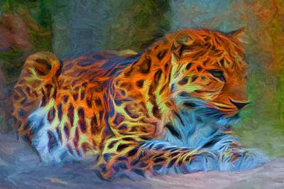 Amur Leopard Poster by Caito Junqueira