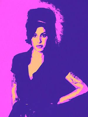 Amy Winehouse Pop Art Poster by Dan Sproul