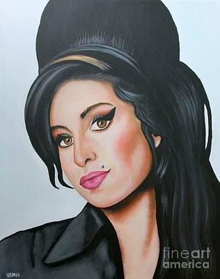 Amy Winehouse Poster by Venu