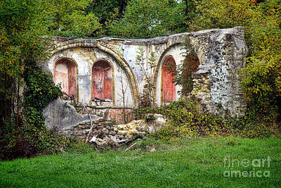 An Abandoned Chapel In France  Poster by Olivier Le Queinec