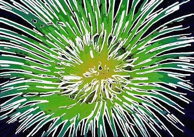 An Abstract Scene Of Sea Anemone 2 Poster by Lanjee Chee