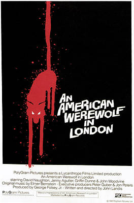 An American Werewolf In London, Poster Poster by Everett