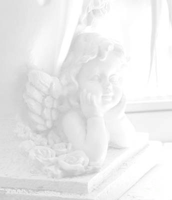 An Angel Awaits Poster by Beauty For God