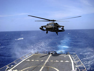 An Army Uh-60 Black Hawk Helicopter Poster by Stocktrek Images