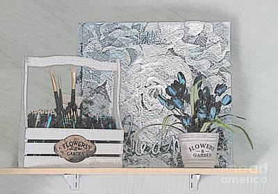 An Artist's Shelf Poster