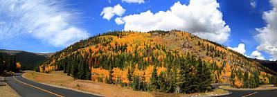 An Autumn Drive - Panorama Poster