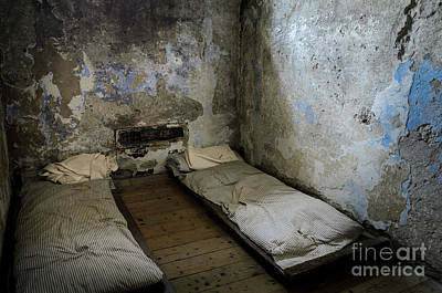 Poster featuring the photograph An Empty Cell In Cork City Gaol by RicardMN Photography