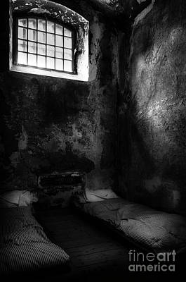 Poster featuring the photograph An Empty Cell In Old Cork City Gaol by RicardMN Photography