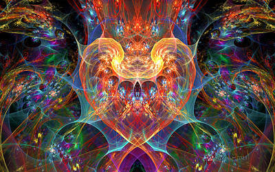 An Energetic Heart Poster by Peggi Wolfe