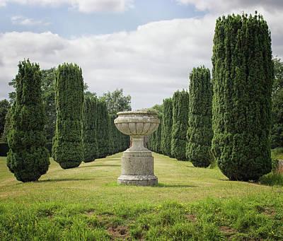 An English Country Garden Poster