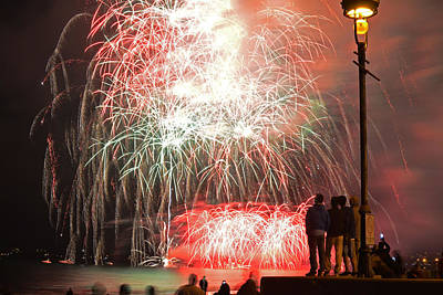 An Impressive Display Revere Beach Fireworks 2015 Poster