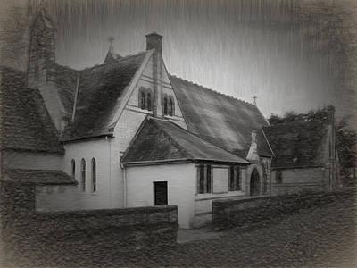 An Irish Church Poster by Dave Luebbert