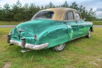 An Old Chevy By The Road In Rural Maine Poster