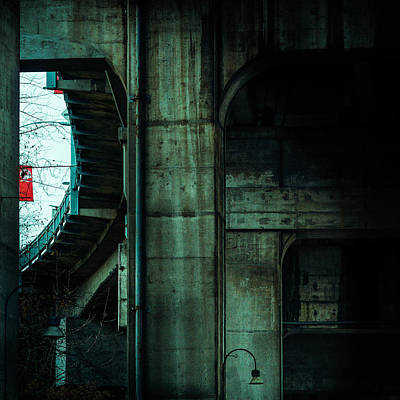 An Urban Window Poster