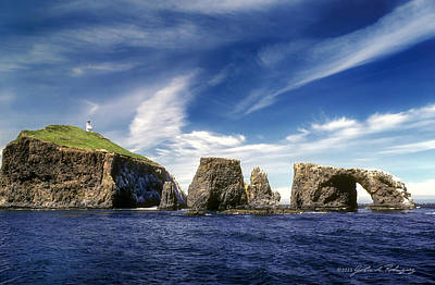 Channel Islands National Park - Anacapa Island Poster by John A Rodriguez