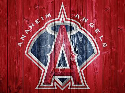 Anaheim Angels Barn Door Poster