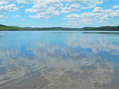 Anasagunticook Lake, Canton, Me, Usa 10 Poster by George Ramos