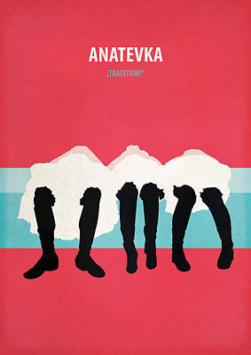 Anatevka Poster by Fraulein Fisher