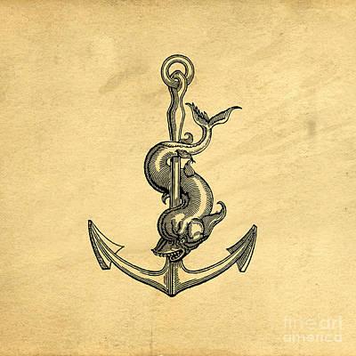 Anchor Vintage Poster