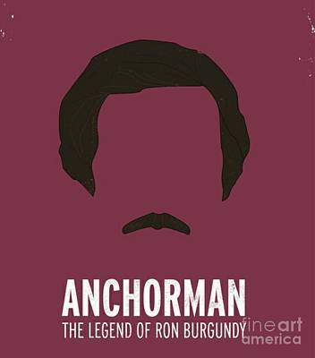 Anchorman Poster by Blackwater Studio