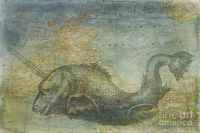 Ancient Mapping Poster by Kelley Freel-Ebner