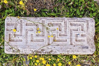 Ancient Marble Masonry Poster