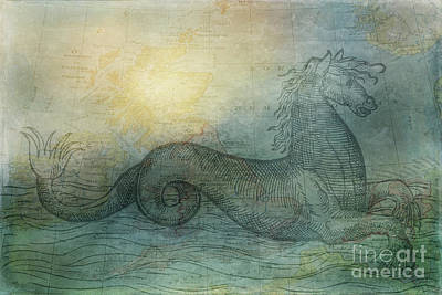 Ancient Seas Poster by Kelley Freel-Ebner