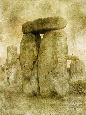Ancient Stones Poster by The Rambler