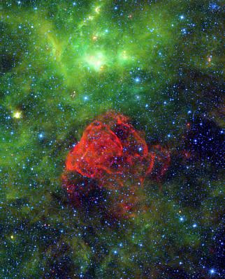 Ancient Supernova Revealed Poster