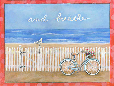 And Breathe Poster by Gail McClure