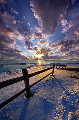 Poster featuring the photograph And I Will Give You Rest. by Phil Koch