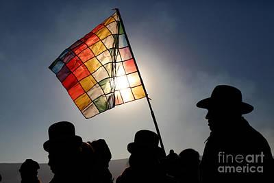 Andean Indigenous Pride Poster by James Brunker