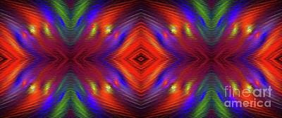 Poster featuring the digital art Andee Design Abstract 3 2015 by Andee Design