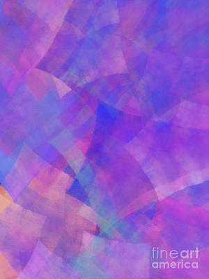 Poster featuring the digital art Andee Design Abstract 75 2017 by Andee Design