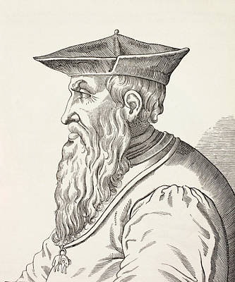 Andrea Doria, 1466-1560. Italian Poster