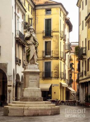 Andrea Palladio Statue Poster