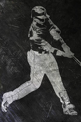 Andrew Mccutchen Pittsburgh Pirates Art Poster by Joe Hamilton