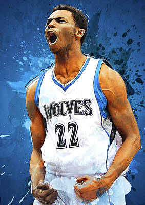 Andrew Wiggins Minnesota Timberwolves Poster